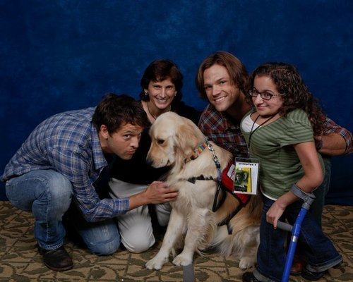 Jared and Misha