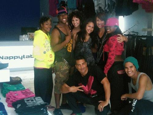 জুঁই with the dancers!