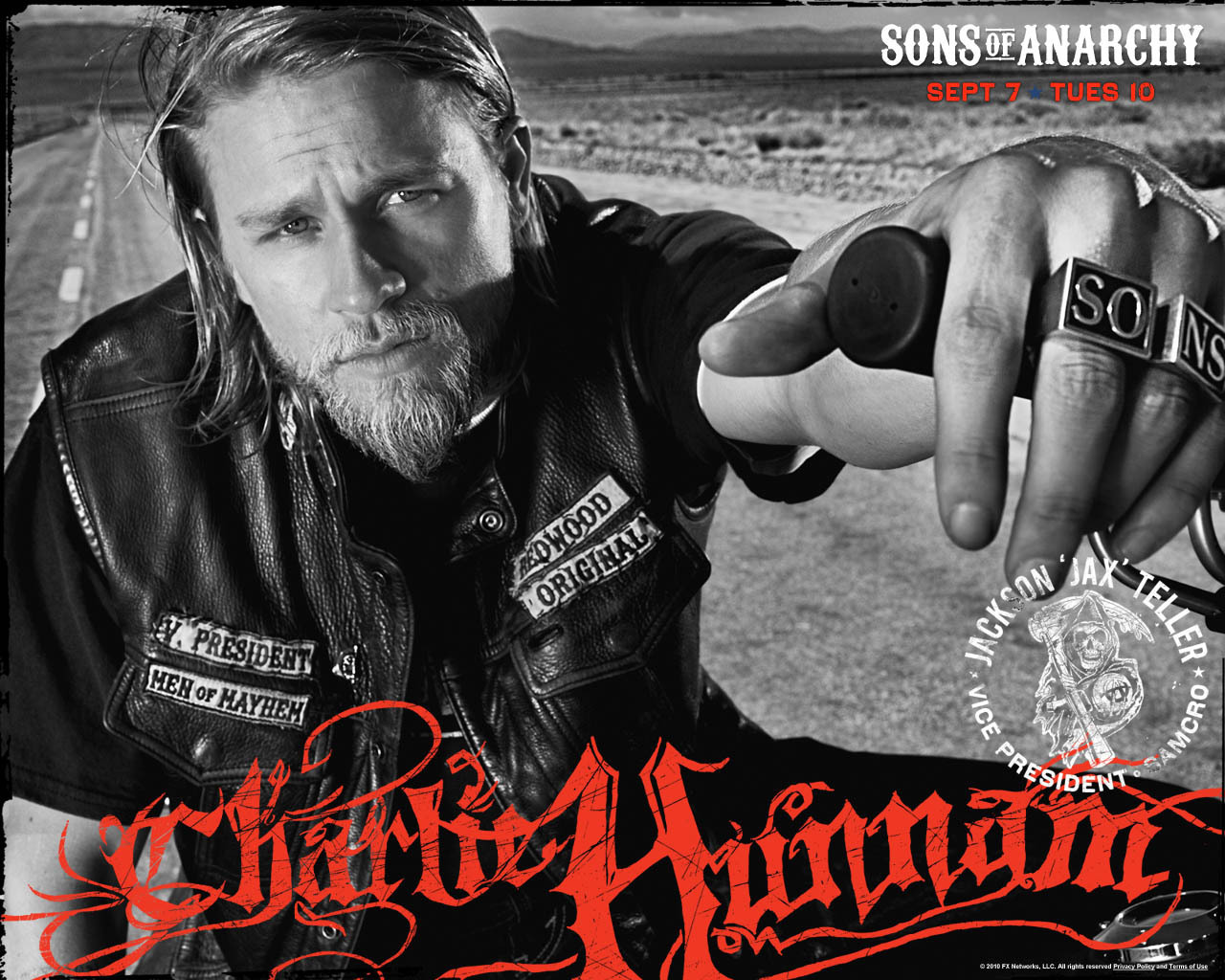 Charlie Hunnam Soa: Sons Of Anarchy Wallpaper (16267280)