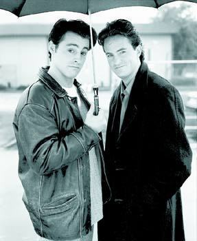 Joey Tribbiani and Chandler Bing