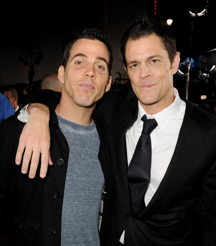 Johnny Knoxville & Steve-O @ the LA Premiere of 'Jackass 3D'