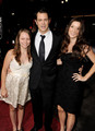 Johnny Knoxville, with Madison Knoxville & Naomi Nelson @ the LA Premiere of 'Jackass 3D' - johnny-knoxville photo