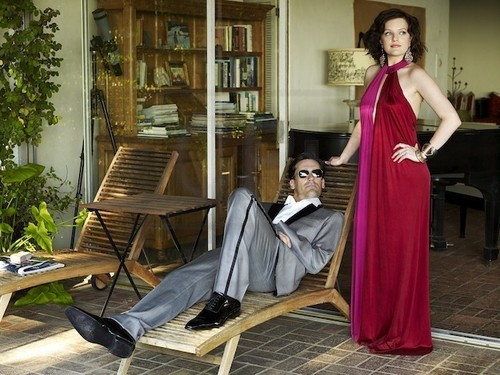 Jon Hamm & Elisabeth Moss - L.A. Confidential - Photoshoot