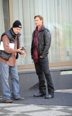 Josh On The Set Of Mission: Impossible 4 - 2010 - October 14