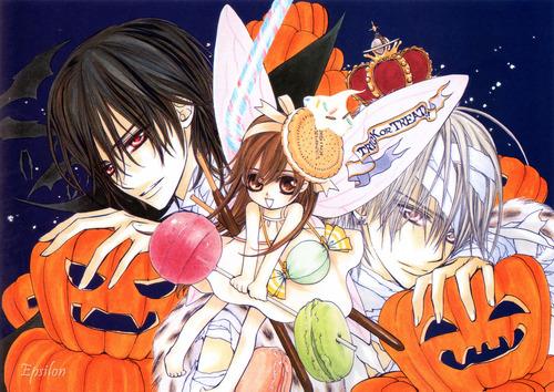 Kaname, Yuuki and Zero