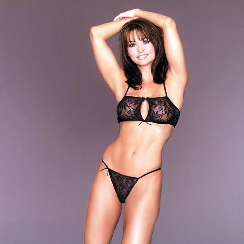 Wanita cantik kertas dinding containing a bikini titled Karen Mcdougal