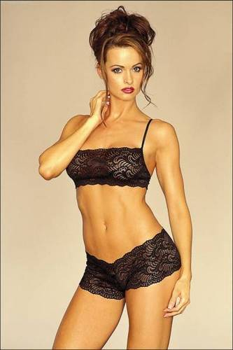 Wanita cantik kertas dinding containing a brassiere called Karen Mcdougal