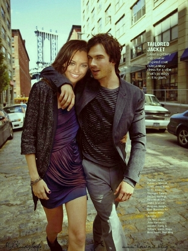 Kat/Ian and Damon/Bonnie