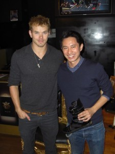 Kellan Lutz makes a second visit to Jump SoHo - kellan-lutz Photo