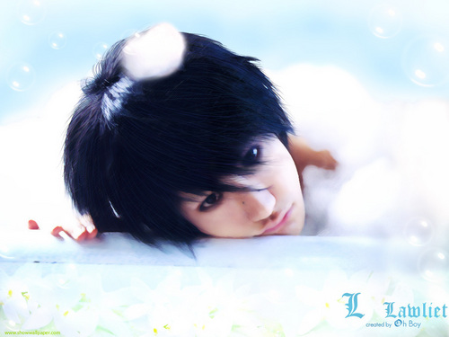 L wallpaper containing a hot tub entitled Ken'ichi Matsuyama as L