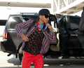 LAX DEPARTURE JADEN SMITH!!