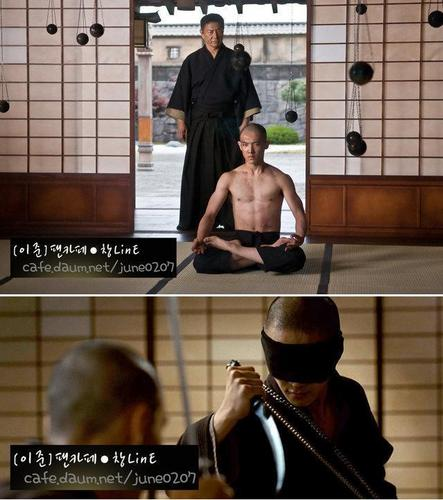 Lee Joon in Movie Ninja Assassin