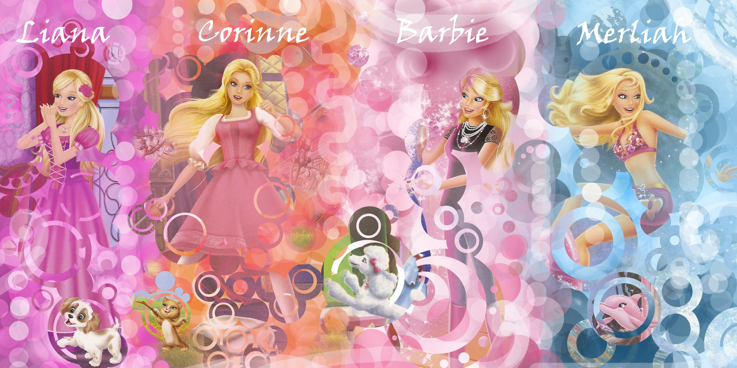 Barbie Movies Liana Corinne Barbie And Merliah