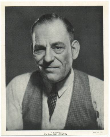Lon Chaney sr - horror-movies Photo