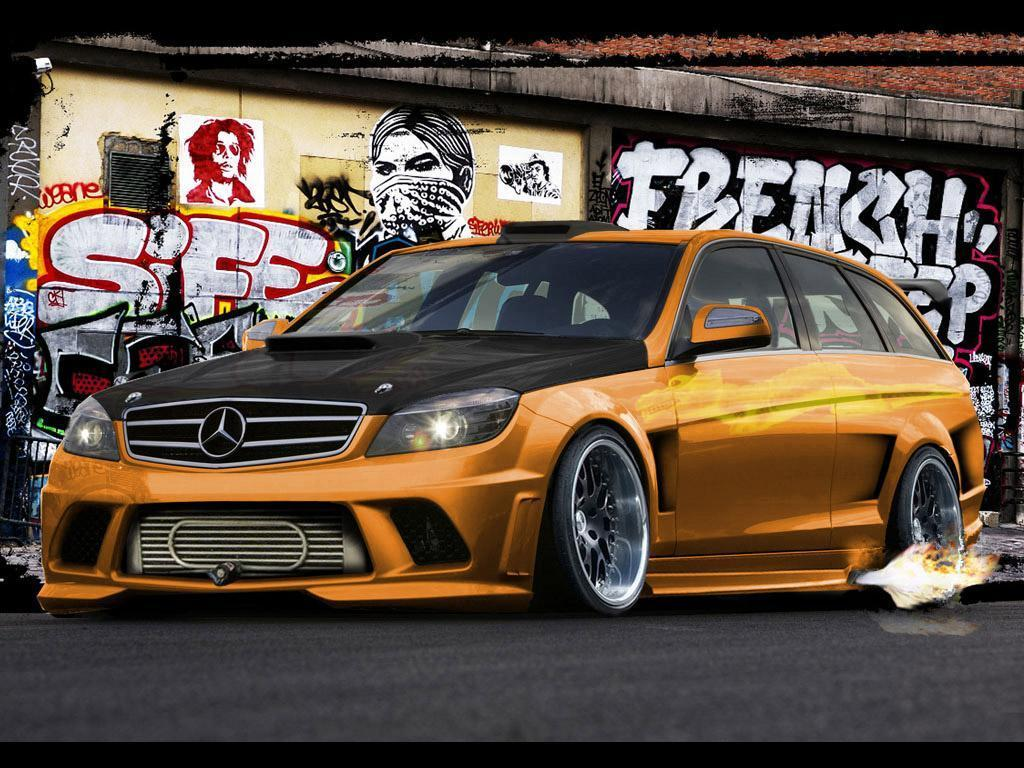 MERCEDES - BENZ TUNING