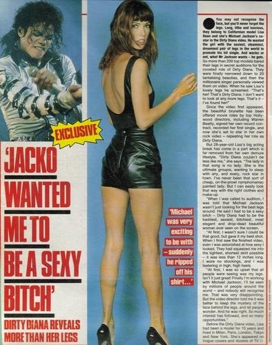 """MJ """"Dirty Diana"""""""