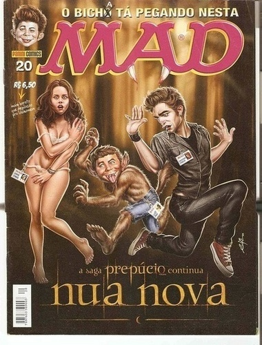 Mad Magazine - New Moon
