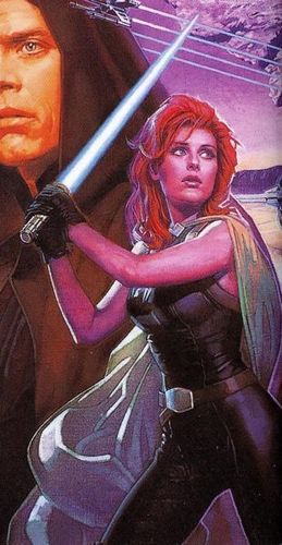 Mara Jade Skywalker wallpaper possibly with anime called Mara Jade