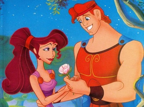 Megara and Hercules - disney-couples Photo