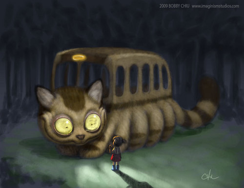 My Neighbor Totoro - Cat Bus - lolly4me2 Photo