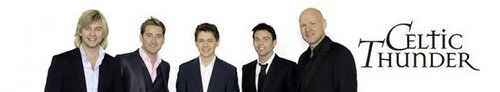 Celtic Thunder photo called New Celtic Thunder Banner