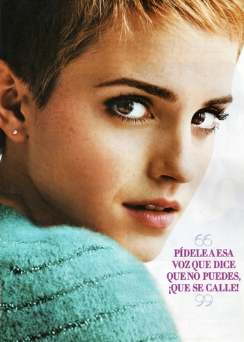 New Emma Watson foto shoot in Mexico's Seventeen magazine