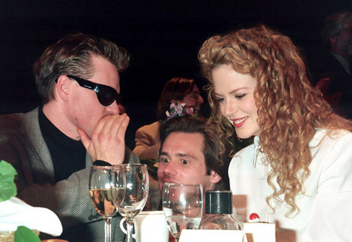Nicole Kidman, Jim Carrey and Val Kilmer