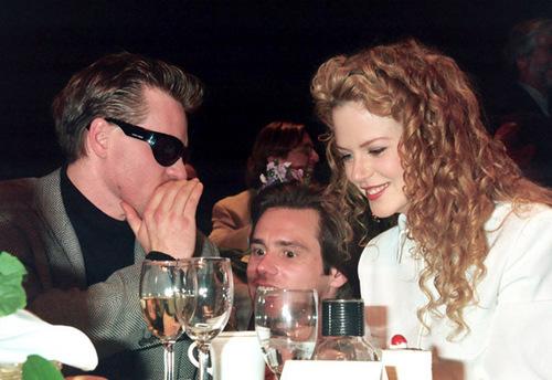 Nicole Kidman, Jim Carrey and Val Kilmer