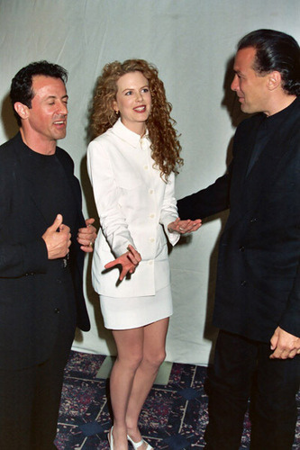 Nicole Kidman, Sylvester Stallone and Steven Seagal