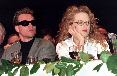 Nicole Kidman and Val Kilmer at Showest Convention
