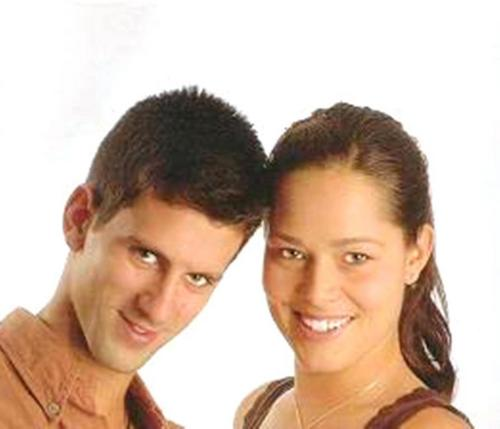 Novak Djokovic and Ana Ivanovic love