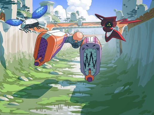 [JUEGO] Adivina el Anime-Manga con Imagenes Oban-star-racers-oban-star-racers-16282166-516-386