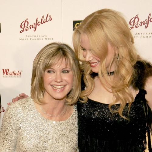Olivia and Nicole Kidman at G'Day LA Penfolds Gala