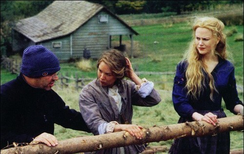 On the set of Cold Mountain
