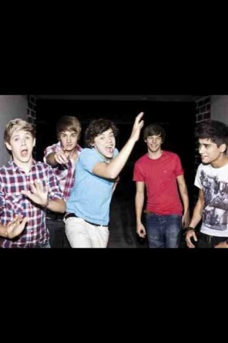 One Direction (Facebook images)
