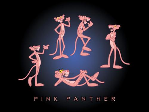 Random Wallpaper Containing A Sign Entitled PINK PANTHER