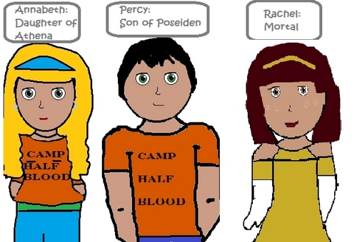 Percy Jackson and friends
