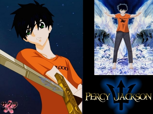 Percy Jackson collage