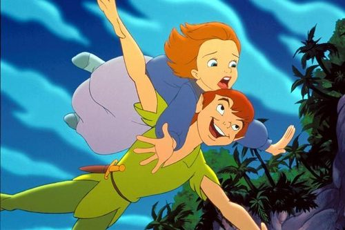 Leading men of disney wallpaper with anime called Peter Pan