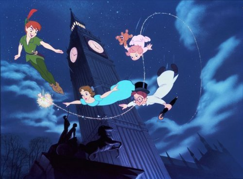 Peter Pan Wallpaper Called
