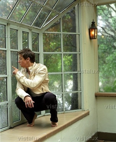 Jeremy Renner wallpaper containing a conservatory titled Photoshoot