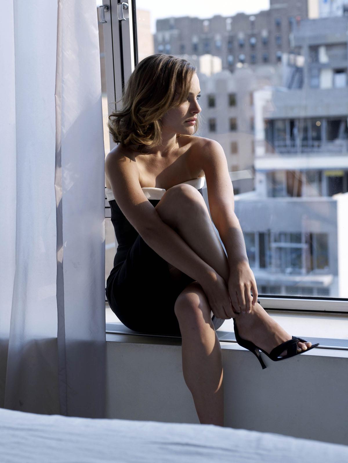 Натали Портман Ножки Фото