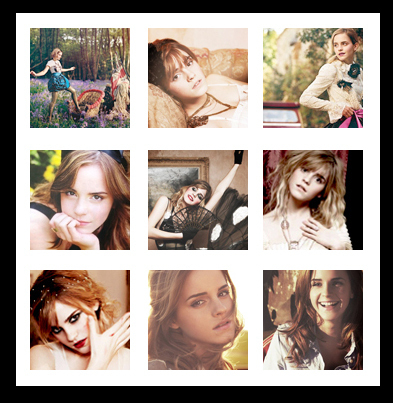 Promo: Emma Watson icons