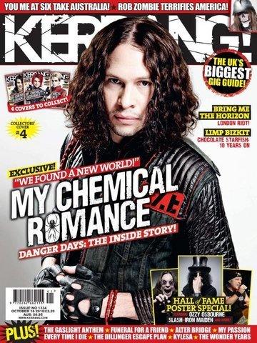 射线, 雷 on Kerrang! Magazine (October 2010)