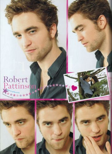 Rob Pattinson scans