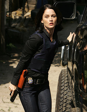 Robin as Agent Teresa Lisbon - The Mentalist