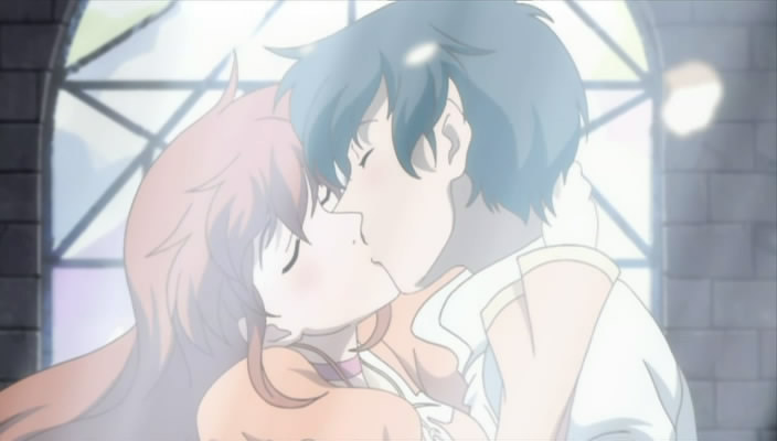 anime romeo and juliet images Romeo and Juliet kiss ...