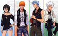 Rukia, Ichigo, Grimmjow, Toshiro - bleach-anime photo