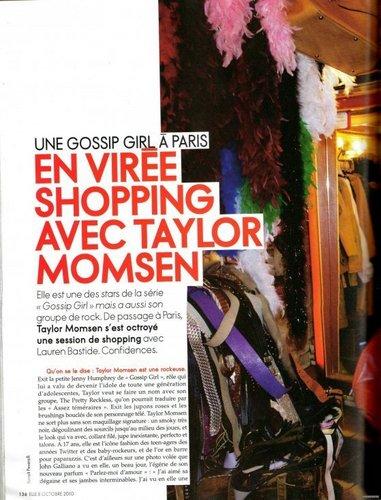 Scan Elle France (Oct. 2010)