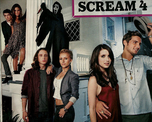 Scream 4 EW Scans